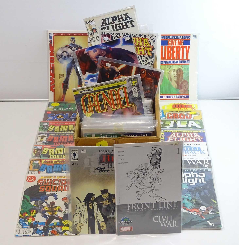 EXCALIBUR LUCKY DIP JOB LOT 310+ COMICS - Includes MARVEL, DC, MALIBU, VALIANT, DARK HORSE,