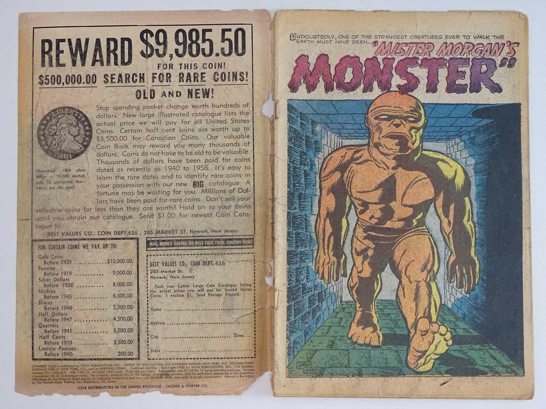 STRANGE TALES #99 - (1962 - MARVEL - UK Price Variant) First appearance Mister Morgan's Monster - - Image 3 of 9