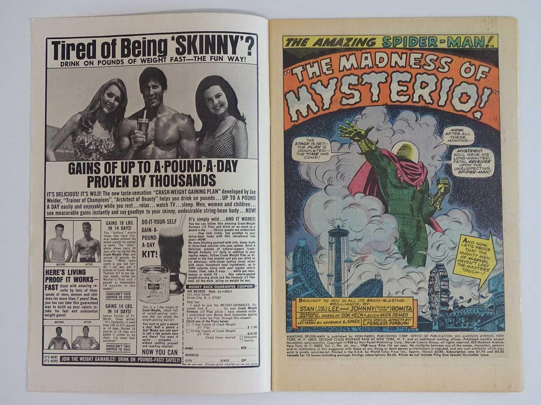 AMAZING SPIDER-MAN # 66 (1968 - MARVEL) - Spider-Man battles Mysterio. + Green Goblin cameo - John - Image 3 of 9