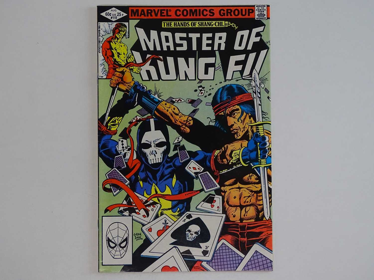 HANDS OF SHANG-CHI: MASTER OF KUNG FU #115 - (1982 - MARVEL) - Modern KEY - First appearance of