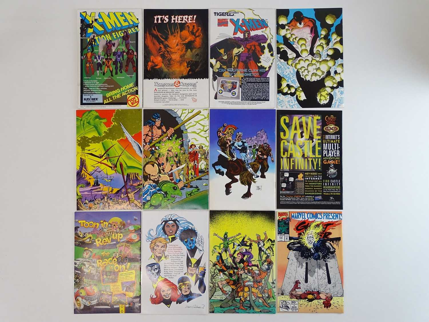 MIXED MARVEL COMICS LOT - (12 in Lot) - (MARVEL) Includes MARVEL SUPER-HEROES SPECIAL: X-MEN ( - Image 2 of 2