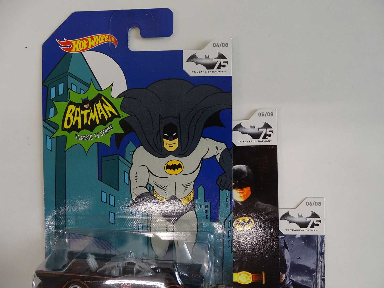 BATMAN LOT (9 in Lot) - Selection of various Batmobiles (8) from Hot Wheels all presented sealed - Image 6 of 7