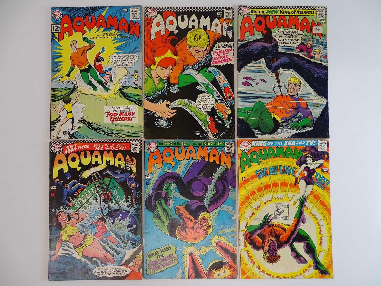AQUAMAN #6, 27, 28, 33, 36, 39 - (6 in Lot) - (1962/68 - DC - UK Cover Price) - Includes Aqualad,