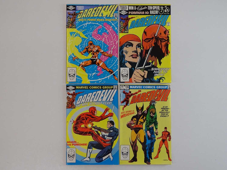 DAREDEVIL #178, 179, 183, 196 - (4 in Lot) - (1981/83 - MARVEL) - Includes Elektra, Punisher,