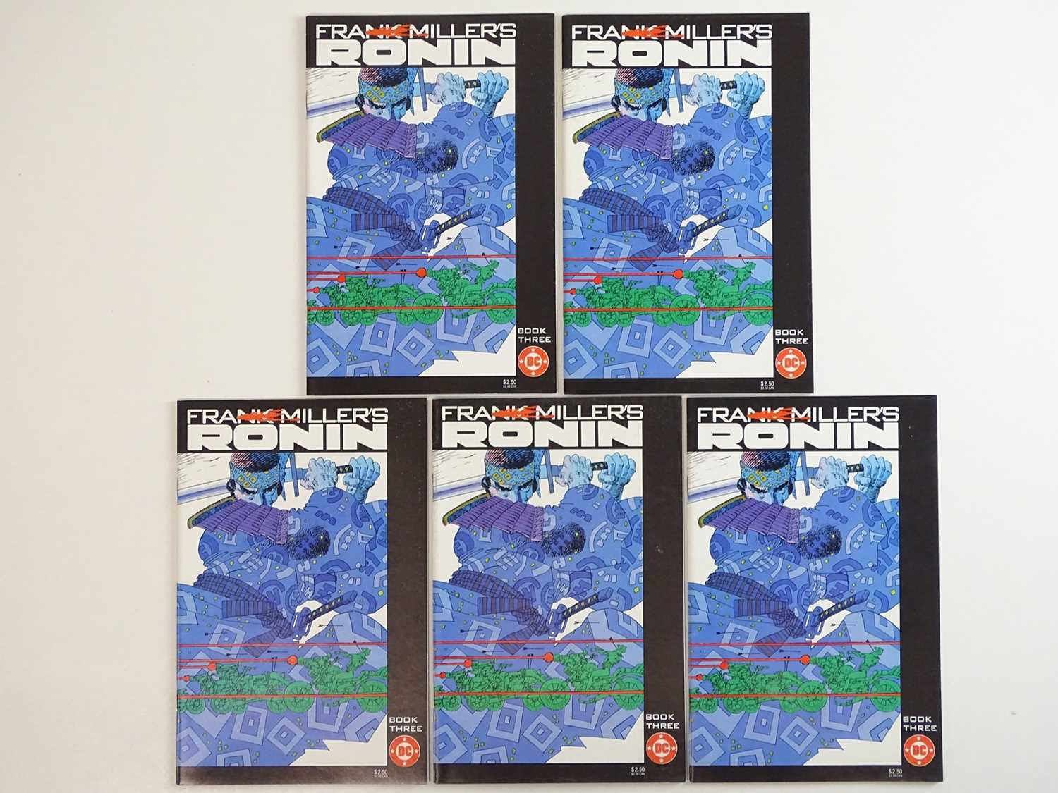 RONIN #3 - (5 in Lot) - (1983 - DC) - First Printing - Five (5) #3 issues for the Frank Miller