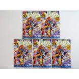 UNCANNY X-MEN #281 - (5 in Lot) - (1991 - MARVEL) - First appearance of Trevor Fitzroy + New X-Men