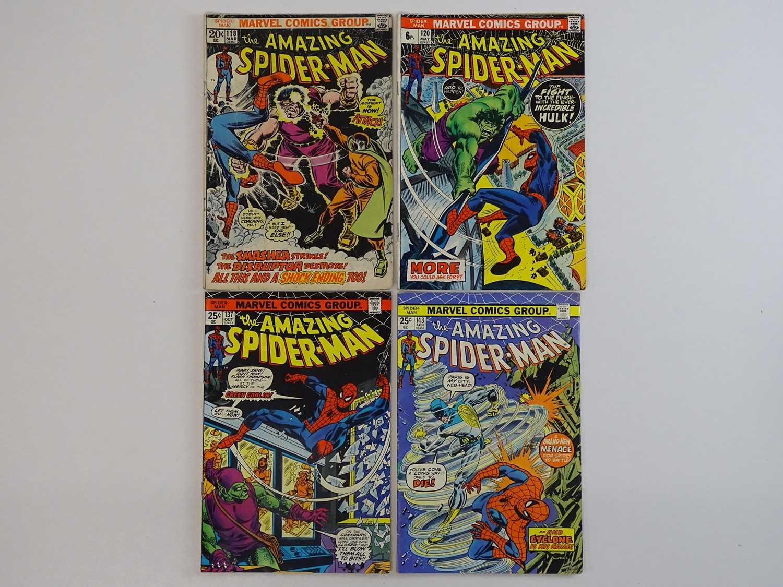 AMAZING SPIDER-MAN #118, 120, 137, 143 - (4 in Lot) - (1973/75 - MARVEL - US Price & UK Price