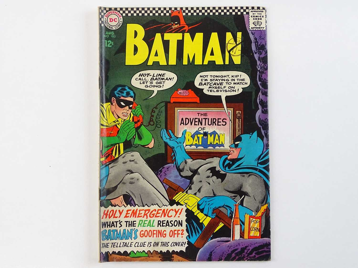BATMAN #183 - (1966 - DC - Uk Cover Price) - Second appearance of Poison Ivy - Carmine Infantino &
