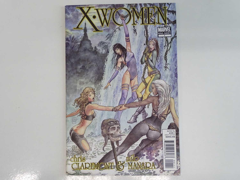 X-WOMEN #1 - (2010- MARVEL) Storm, Psylocke, Shadowcat, Marvel Girl Rogue appearances - Chris