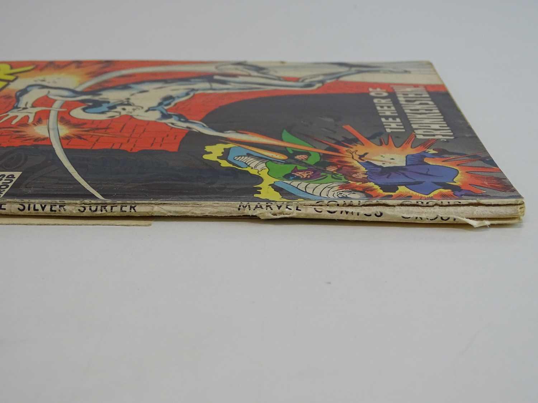 SILVER SURFER #7 - (1969 - MARVEL - UK Cover Price) Early appearance of Marvel's Frankenstein - Image 8 of 8
