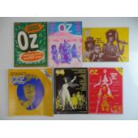 OZ MAGAZINE #29, 30, 31, 32, 33, 34 - (6 in Lot) - (1970/71) Selection of 6 x OZ Magazines -