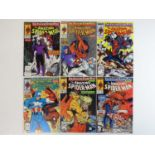 AMAZING SPIDER-MAN #320, 321, 322, 323, 324, 325 - (6 in Lot) - (1989 - MARVEL) - Complete 'The