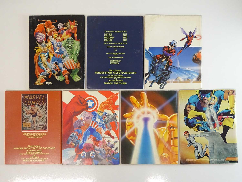 MARVEL COMICS INDEX LOT - (7 in Lot) - (1976/82 - MARVEL) - Includes #3 - AVENGERS + #6 - STRANGE - Image 2 of 2