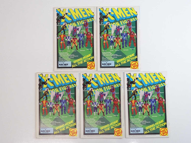 X-MEN #1 - (5 in Lot) - (1991 - MARVEL) - Beast, Storm Archangel, Professor X cover - Jim Lee - Image 2 of 2