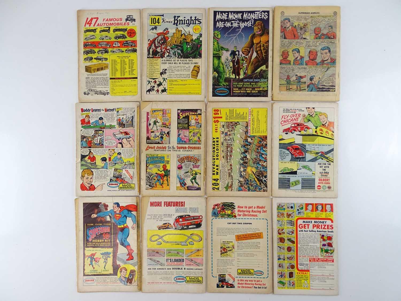 SUPERMAN, SUPERGIRL & SUPERBOY LOT - (12 in Lot) - (DC - UK Cover Price) - Includes SUPERMAN #161, - Image 2 of 2