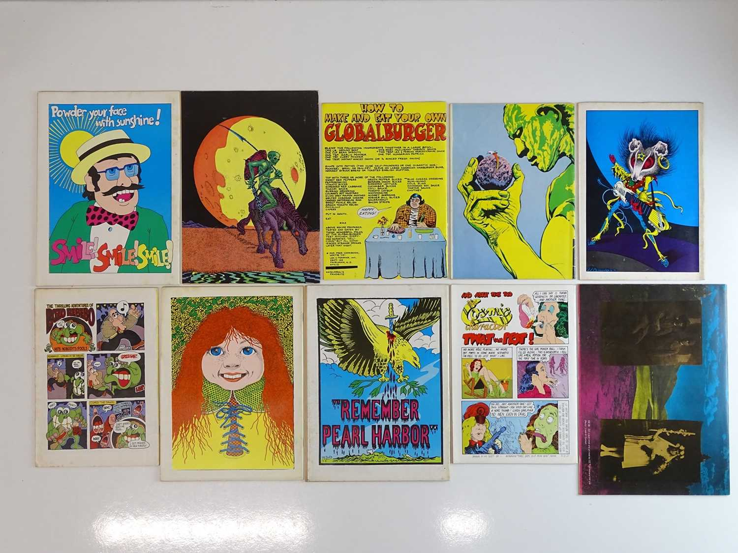 COZMIC COMIC LOT - (10 in Lot) - (1972/75) Selection of Adults only issues - Really are a snapshot - Image 2 of 2