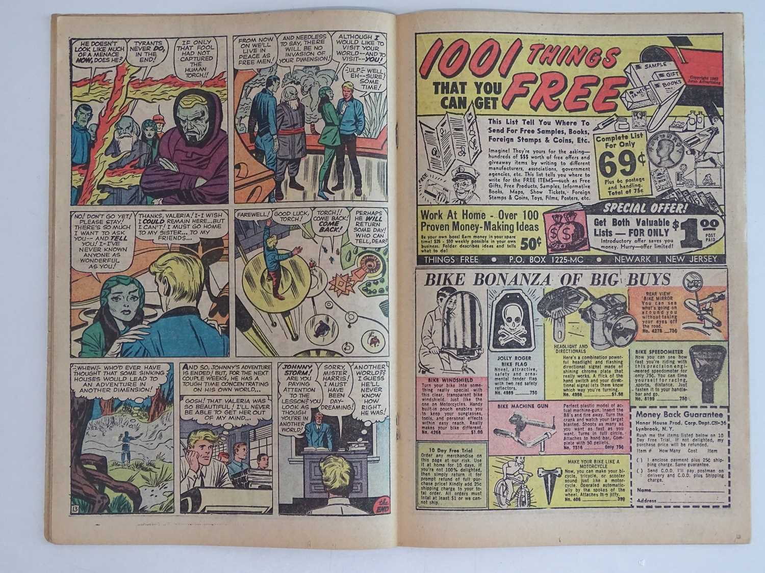 STRANGE TALES: HUMAN TORCH #103 - (1962 - MARVEL - UK Price Variant) First appearance Zemu + Third - Image 5 of 9