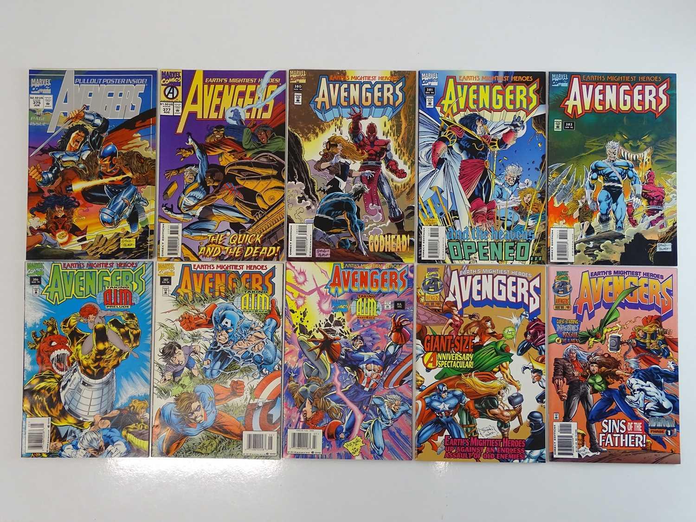 AVENGERS #375, 377, 380, 381, 382, 386, 387, 388, 400, 401- (10 in Lot) - (1994/96 - MARVEL) -