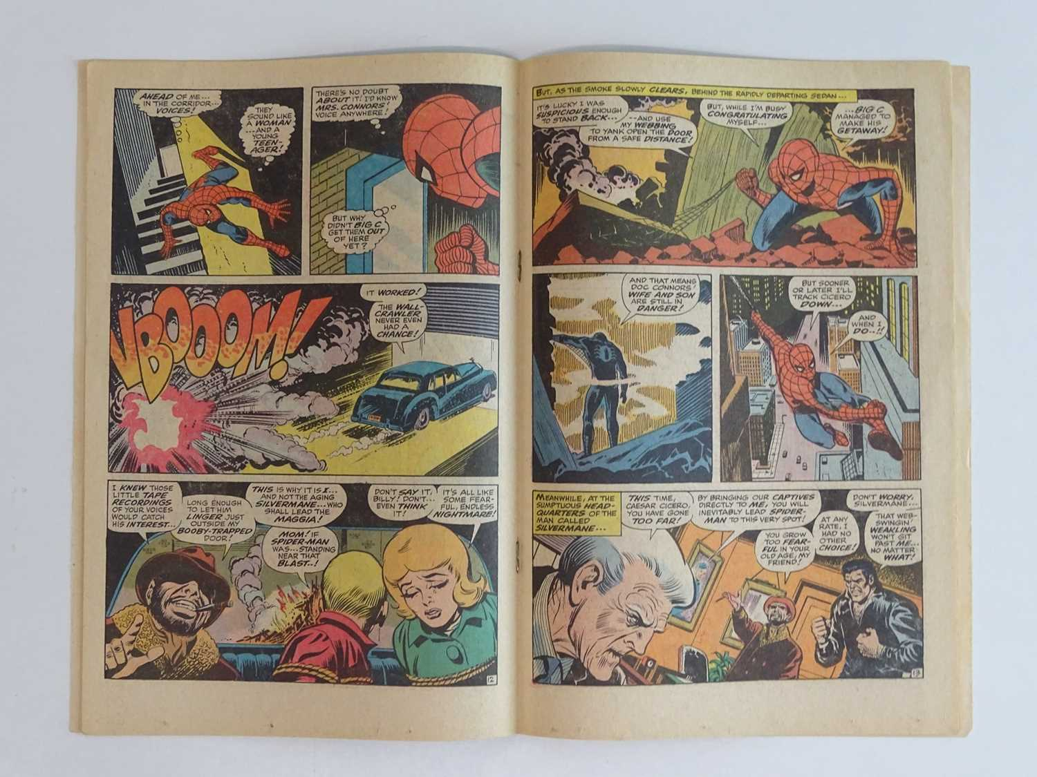 AMAZING SPIDER-MAN #74 - (1969 - MARVEL) - Spider-Man and Dr. Curt Connors (Lizard) battle - Image 5 of 9
