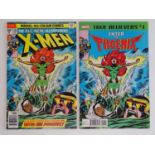 UNCANNY X-MEN #101 - (2 in Lot) - (1976 - MARVEL - UK Price Variant) - First appearance and Origin