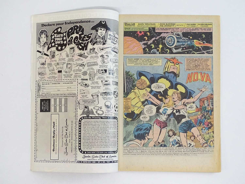 NOVA #1 - (1976 - MARVEL - UK Price Variant) - First appearance and Origin of Nova (Richard Rider) + - Image 3 of 9