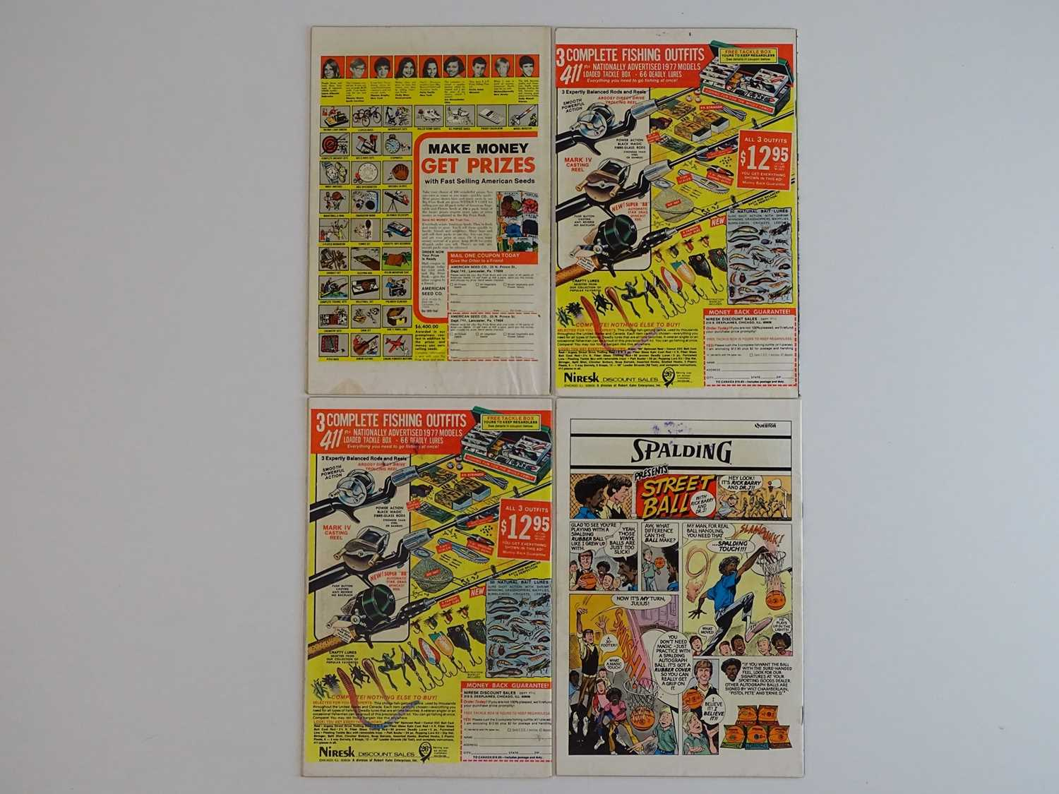 AMAZING SPIDER-MAN #167, 168, 169, 170 - (4 in Lot) - (1977 - MARVEL) - Includes First appearance of - Image 2 of 2