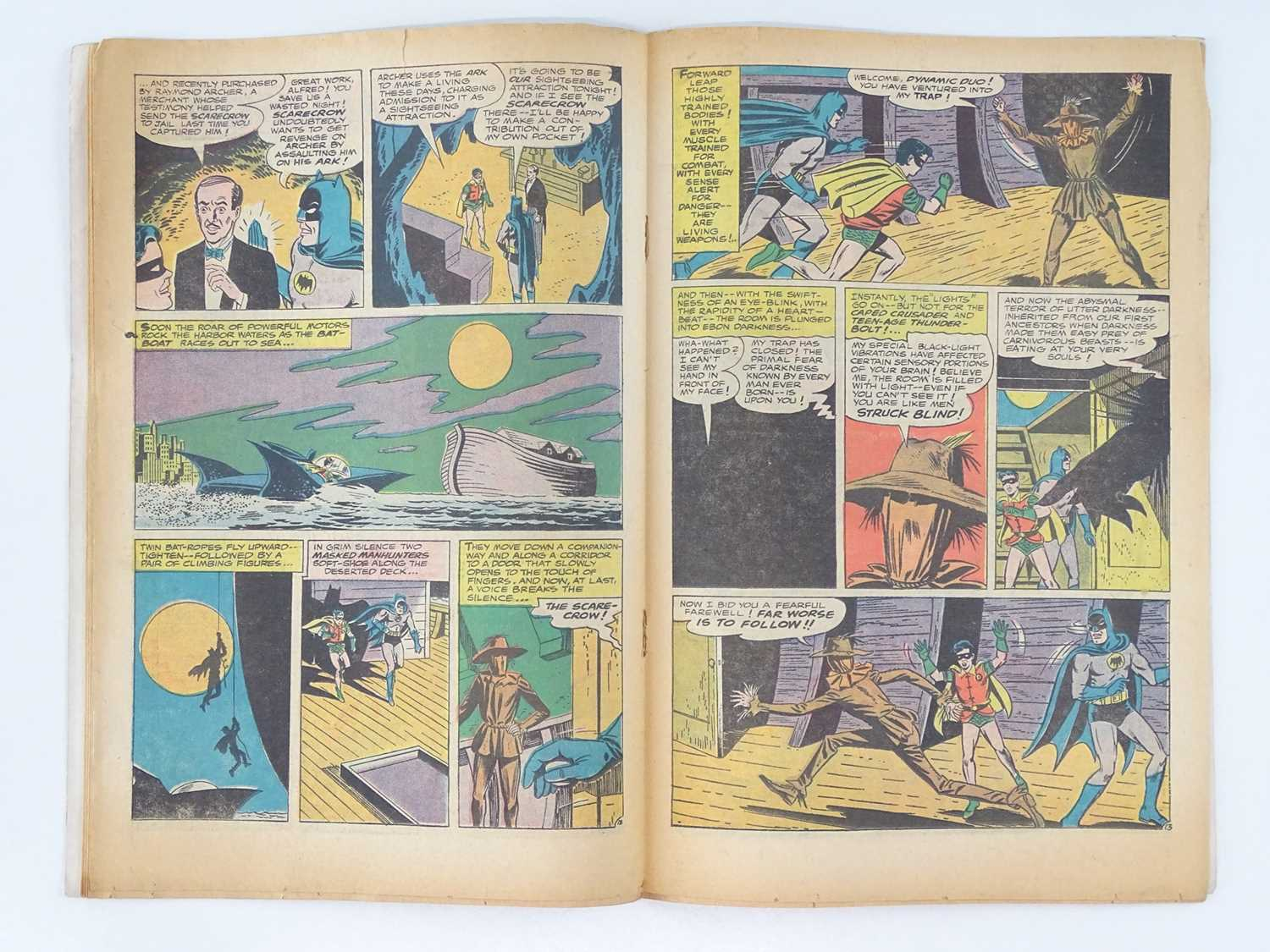 BATMAN #189 - (1967 - DC - UK Cover Price) - KEY Book - First Silver Age appearance of the Scarecrow - Image 5 of 10