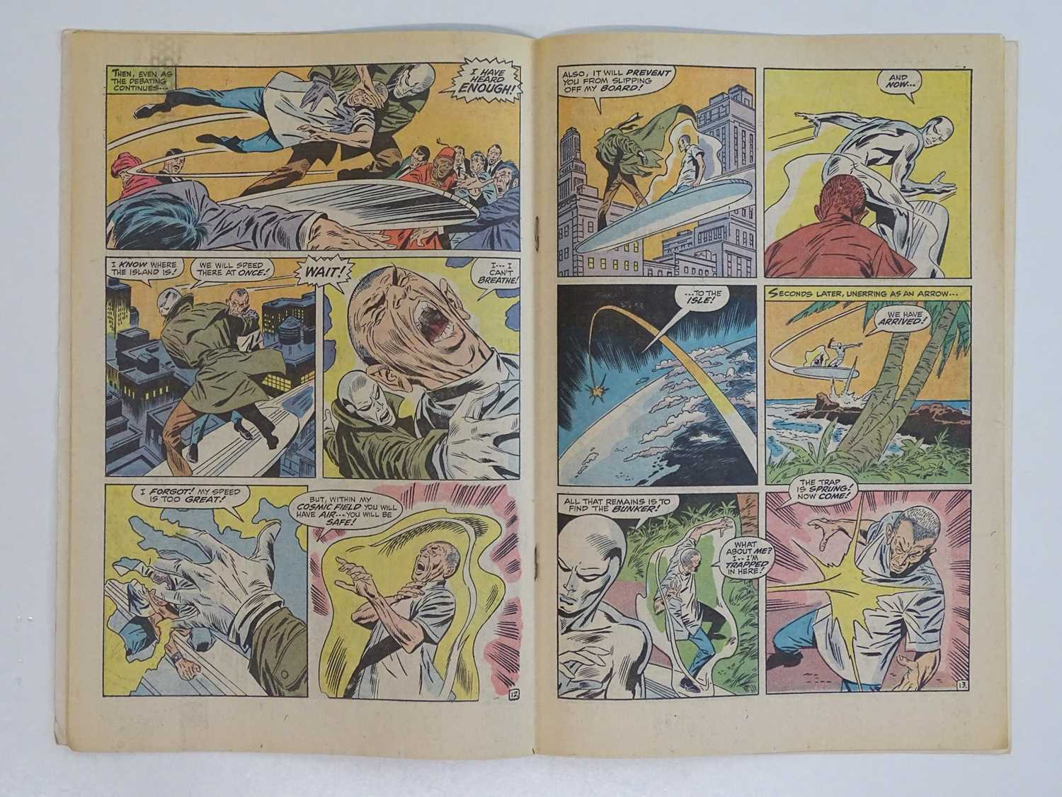 SILVER SURFER #13 - (1970 - MARVEL - UK Cover Price) - First appearance and origin of Doomsday Man - - Image 5 of 9