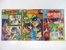 DETECTIVE COMICS: BATMAN #379, 380, 383 - (3 in Lot) - (1968/69 - DC - UK Cover Price) - Includes
