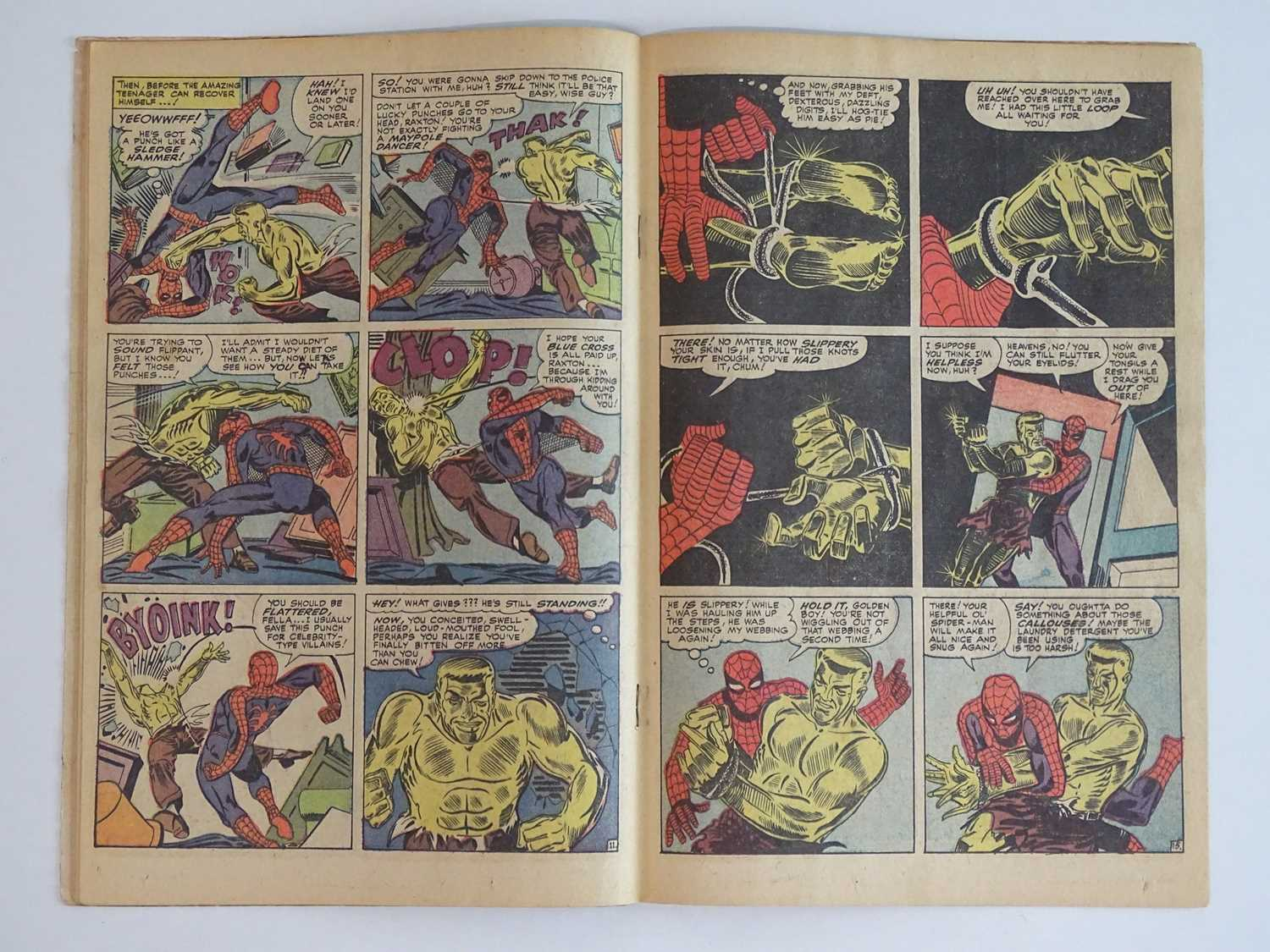 AMAZING SPIDER-MAN #28 - (1965 - MARVEL) - Origin and First appearance of Molten Man + Peter - Image 5 of 9
