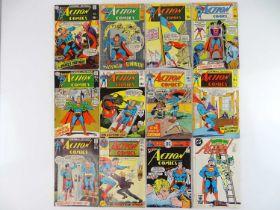 ACTION COMICS: SUPERMAN #378, 379, 381, 384, 385, 387, 389, 390, 391, 393, 457, 560 - (12 in
