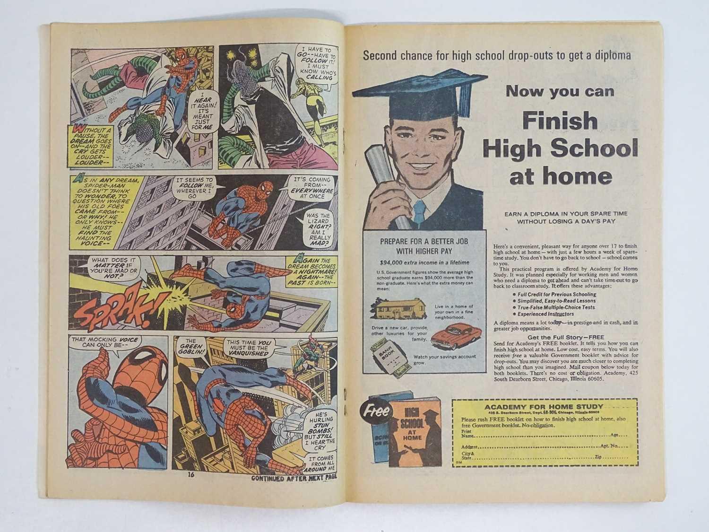 AMAZING SPIDER-MAN #100 (1971 - MARVEL - UK Price Variant) - Green Goblin, Vulture, Lizard, Doctor - Image 5 of 9
