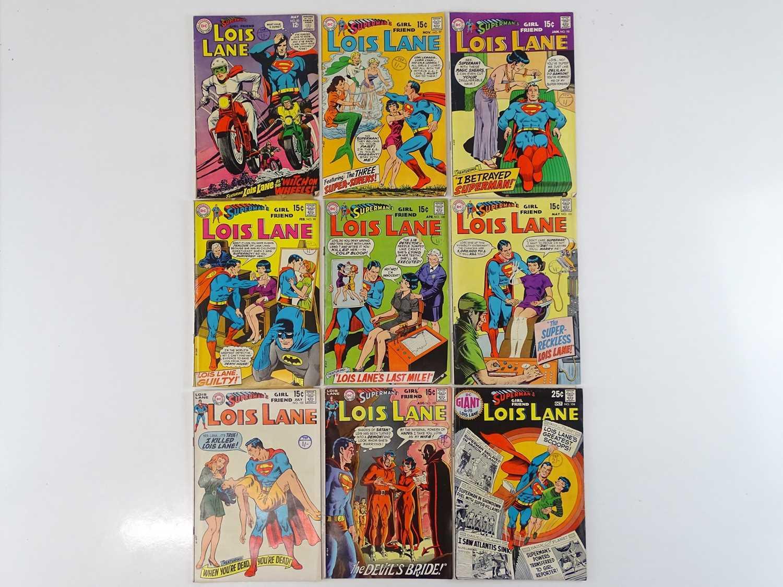 SUPERMAN'S GIRLFRIEND: LOIS LANE #83, 97, 98, 99, 100, 101, 102, 103, 104 - (9 in Lot) - (1968/