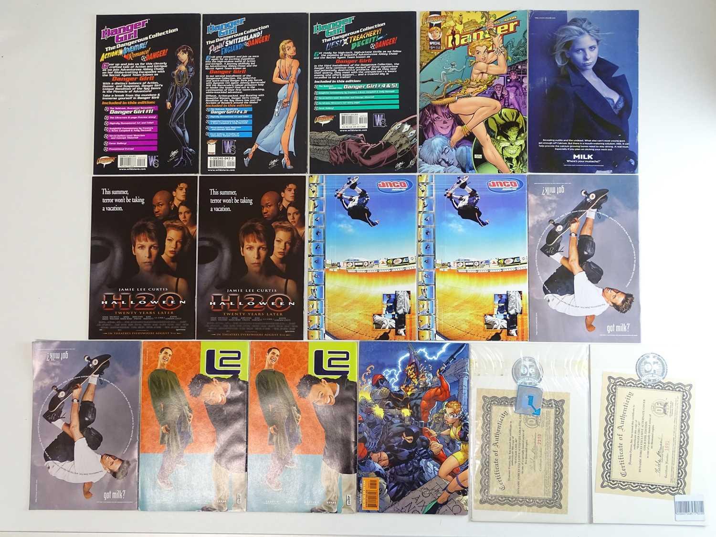 DANGER GIRL LOT - (16 in Lot) - (1998/2001 - CLIFFHANGER)- Includes DANGER GIRL: THE DANGEROUS - Image 2 of 4