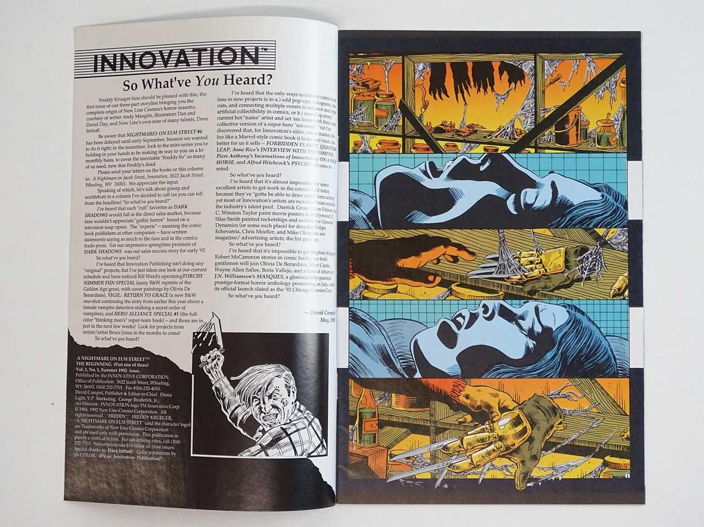 NIGHTMARE ON ELM STREET: THE BEGINNING #1 - (1992 - INNOVATION) - First Printing RARE - Freddy - Image 3 of 9