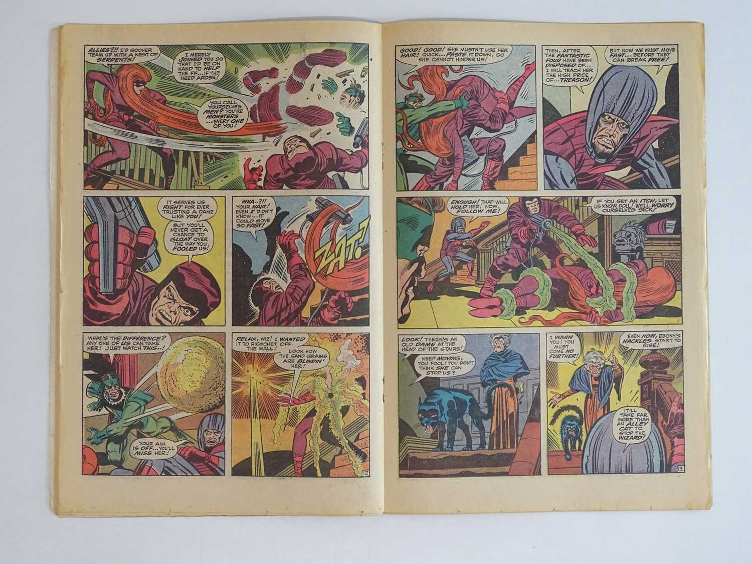 FANTASTIC FOUR #94 - (1970 - MARVEL - UK Price Variant) - Includes First appearance Agatha - Image 5 of 10