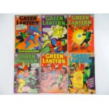 GREEN LANTERN #44. 48, 49, 50, 51, 55 - (6 in Lot) - (1966/67 - DC - UK Cover Price) - Includes