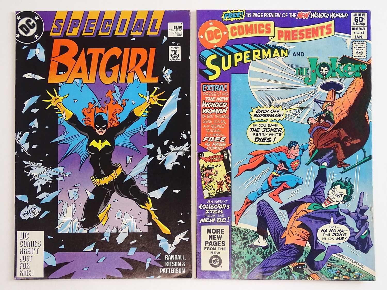 BATGIRL SPECIAL #1 & DC COMICS PRESENTS: JOKER #41 - (1988 & 1982 - DC) - Batgirl standalone special