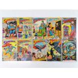 SUPERMAN #221, 222, 223, 224, 225, 226, 228, 229, 230, 232 - (10 in Lot) - (1969/70 - DC - UK
