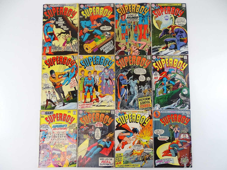SUPERBOY #157, 158, 159, 160, 161, 162, 163, 164, 165, 166, 167, 169 - (12 in Lot) - (1969/70 - DC -