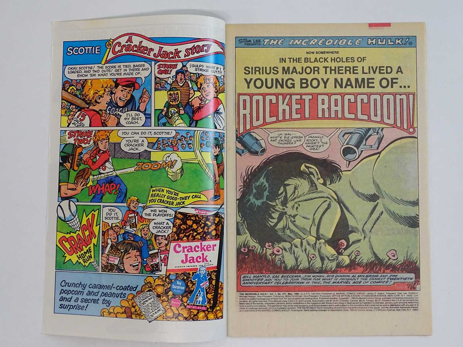 INCREDIBLE HULK #271 - (1981 - MARVEL) - First comic book appearance of Rocket Raccoon (Guardians of - Image 3 of 9