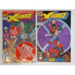 X-FORCE #1 & 2 - (2 in Lot) - (1991 - MARVEL) - Second appearance Deadpool + First appearance Weapon
