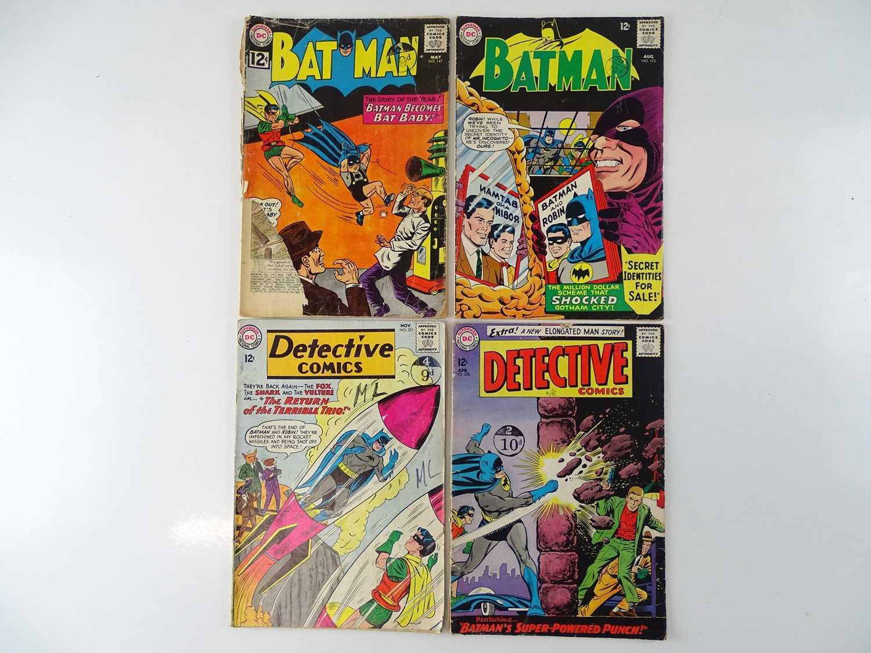 BATMAN & DETECTIVE COMICS LOT - (4 in Lot) - (DC - UK Cover Price) - Includes BATMAN #147 & 173 (