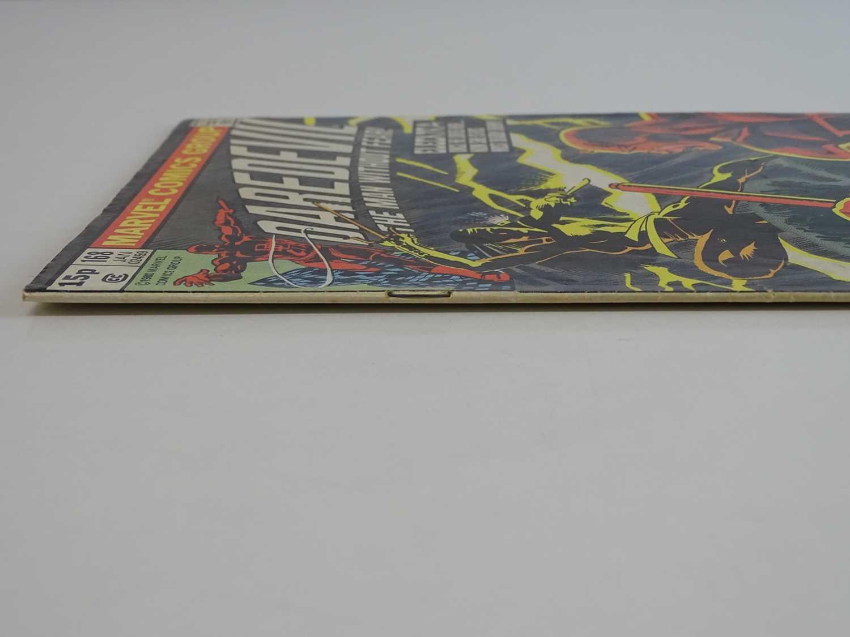 DAREDEVIL #168 - (1980 - MARVEL - UK Price Variant) - First appearance and Origin of Elektra (mis- - Image 8 of 9