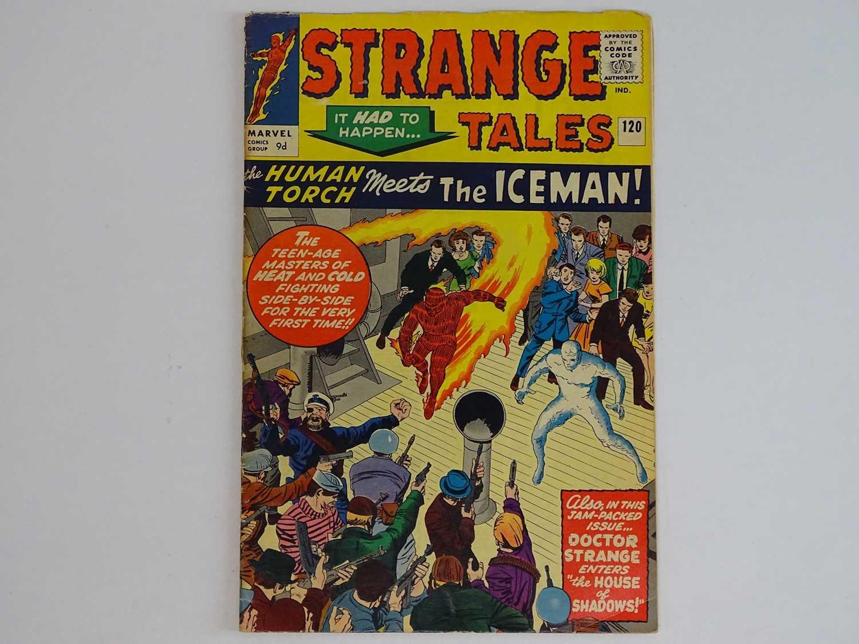 STRANGE TALES: HUMAN TORCH & DR. STRANGE#120 - (1964 - MARVEL - UK Price Variant) Includes First