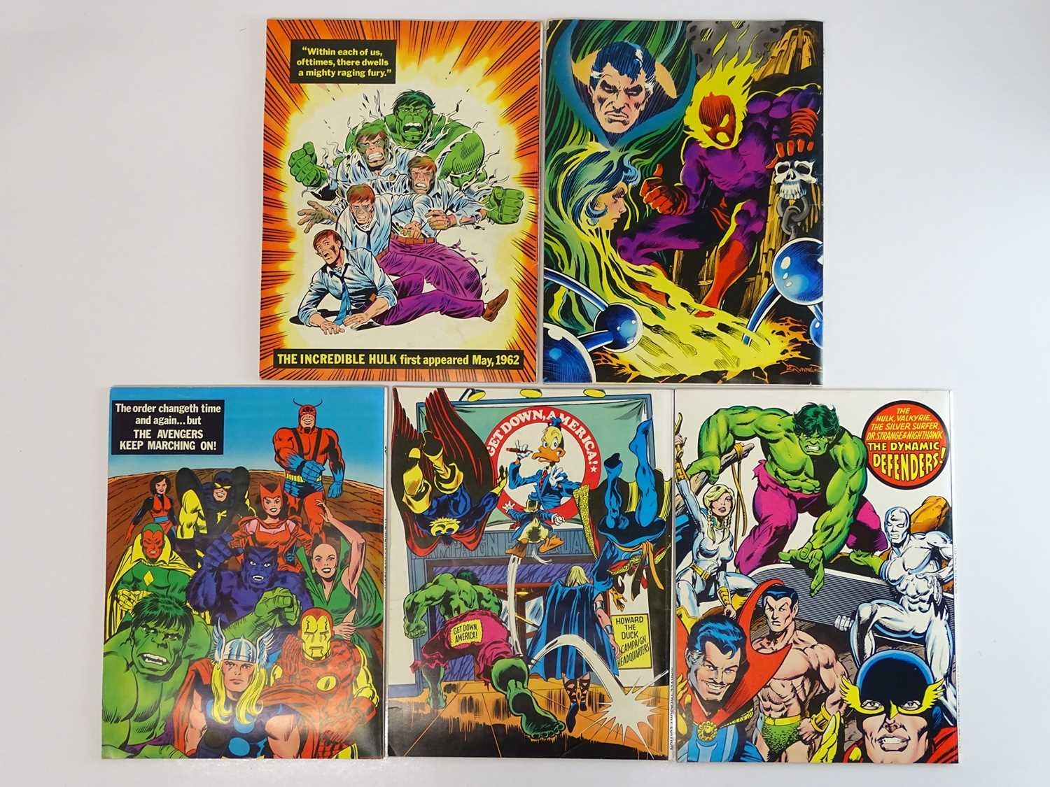 MARVEL TREASURY EDITIONS LOT - (5 in Lot) - (1975/78 - MARVEL - UK Price Variant) - Includes #5 - - Image 2 of 2