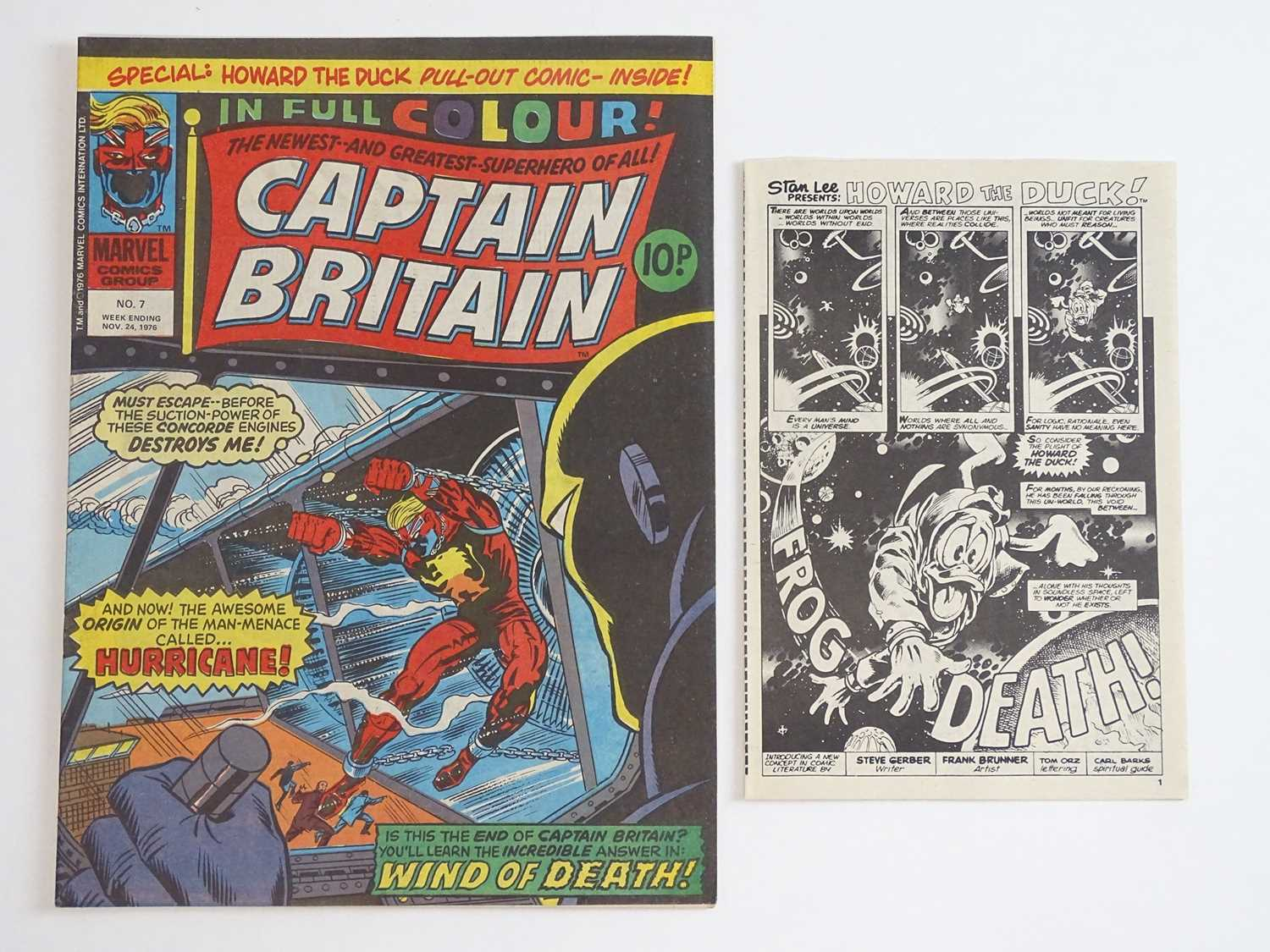 CAPTAIN BRITAIN #1 to 39 - (39 in Lot) - (1976/77 - BRITISH MARVEL) - Complete 39 issue run from # - Image 7 of 11