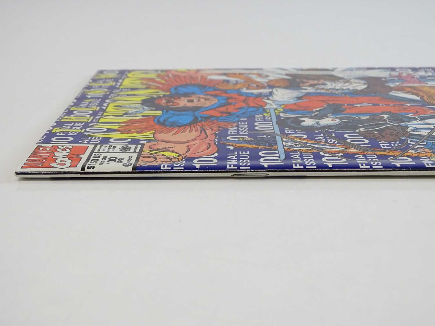 NEW MUTANTS #100 - (1991 - MARVEL) - First appearance of X-Force + Last Issue of the Title - Rob - Image 8 of 9
