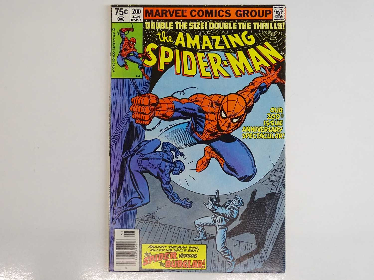 AMAZING SPIDER-MAN #200 - (1980 - MARVEL) - Spider-Man's origin is retold and he confronts the