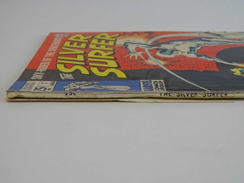 SILVER SURFER #7 - (1969 - MARVEL - UK Cover Price) Early appearance of Marvel's Frankenstein - Image 7 of 8
